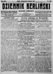 Dziennik Berliński. 1922 R.26 nr208