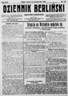 Dziennik Berliński. 1922 R.26 nr210