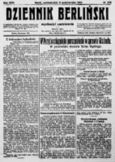 Dziennik Berliński. 1922 R.26 nr215
