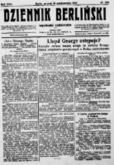 Dziennik Berliński. 1922 R.26 nr216