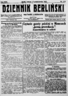 Dziennik Berliński. 1922 R.26 nr222