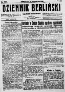 Dziennik Berliński. 1922 R.26 nr223