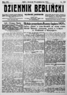Dziennik Berliński. 1922 R.26 nr224