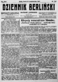Dziennik Berliński. 1922 R.26 nr229