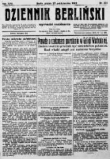 Dziennik Berliński. 1922 R.26 nr231