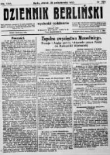 Dziennik Berliński. 1922 R.26 nr234