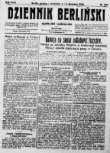 Dziennik Berliński. 1922 R.26 nr237