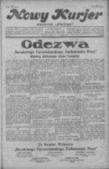 """Nowy Kurjer: dawniej """"Postęp"""" 1929.09.01 R.40 Nr201"""