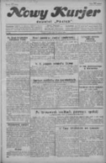 """Nowy Kurjer: dawniej """"Postęp"""" 1929.09.06 R.40 Nr205"""