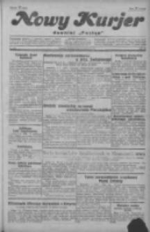 """Nowy Kurjer: dawniej """"Postęp"""" 1929.09.08 R.40 Nr207"""