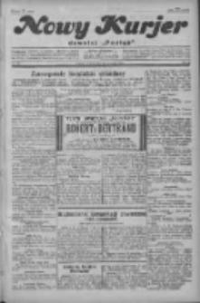 """Nowy Kurjer: dawniej """"Postęp"""" 1929.09.10 R.40 Nr208"""