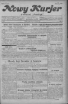 """Nowy Kurjer: dawniej """"Postęp"""" 1929.09.14 R.40 Nr212"""