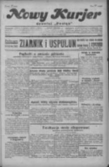 """Nowy Kurjer: dawniej """"Postęp"""" 1929.09.18 R.40 Nr215"""