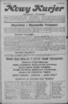 """Nowy Kurjer: dawniej """"Postęp"""" 1929.09.19 R.40 Nr216"""