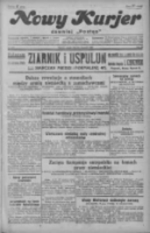 """Nowy Kurjer: dawniej """"Postęp"""" 1929.09.20 R.40 Nr217"""
