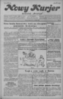"""Nowy Kurjer: dawniej """"Postęp"""" 1929.09.25 R.40 Nr221"""