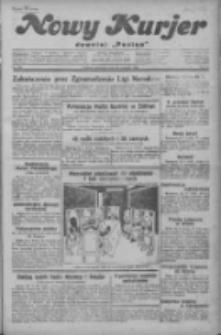 """Nowy Kurjer: dawniej """"Postęp"""" 1929.09.26 R.40 Nr222"""