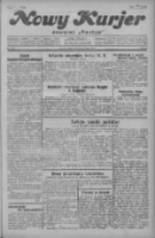"""Nowy Kurjer: dawniej """"Postęp"""" 1929.09.28 R.40 Nr224"""