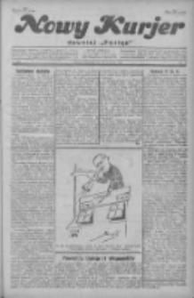 """Nowy Kurjer: dawniej """"Postęp"""" 1929.09.29 R.40 Nr225"""