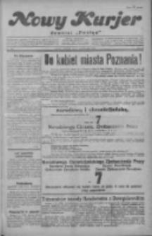 """Nowy Kurjer: dawniej """"Postęp"""" 1929.10.03 R.40 Nr228"""