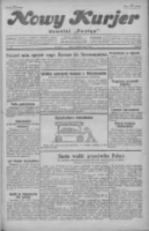 """Nowy Kurjer: dawniej """"Postęp"""" 1929.10.04 R.40 Nr229"""