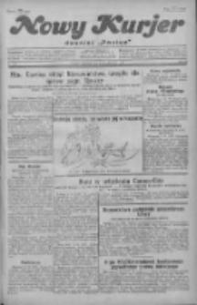 """Nowy Kurjer: dawniej """"Postęp"""" 1929.10.06 R.40 Nr231"""