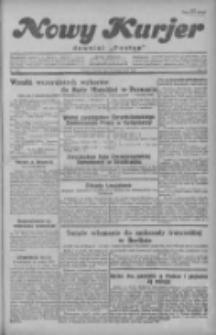 """Nowy Kurjer: dawniej """"Postęp"""" 1929.10.08 R.40 Nr232"""