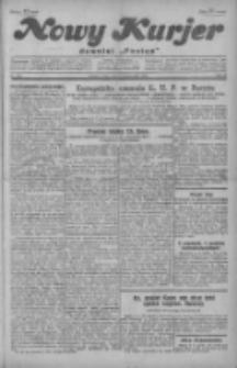 """Nowy Kurjer: dawniej """"Postęp"""" 1929.10.09 R.40 Nr233"""
