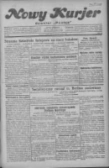 """Nowy Kurjer: dawniej """"Postęp"""" 1929.10.11 R.40 Nr235"""
