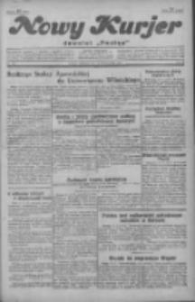 """Nowy Kurjer: dawniej """"Postęp"""" 1929.10.13 R.40 Nr237"""