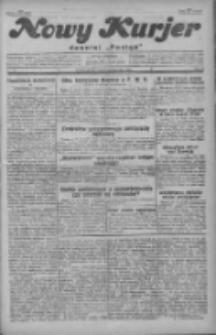 """Nowy Kurjer: dawniej """"Postęp"""" 1929.10.18 R.40 Nr241"""