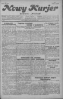 """Nowy Kurjer: dawniej """"Postęp"""" 1929.10.20 R.40 Nr243"""