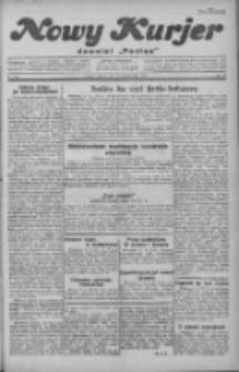 """Nowy Kurjer: dawniej """"Postęp"""" 1929.10.22 R.40 Nr244"""