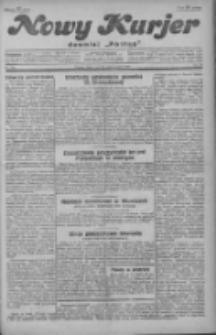 """Nowy Kurjer: dawniej """"Postęp"""" 1929.10.23 R.40 Nr245"""