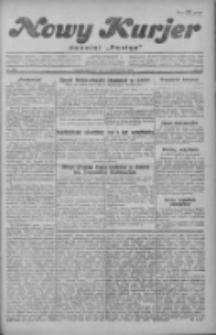 """Nowy Kurjer: dawniej """"Postęp"""" 1929.10.24 R.40 Nr246"""