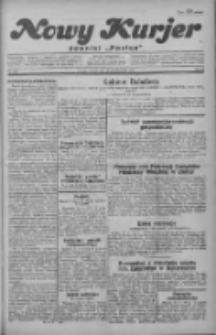 """Nowy Kurjer: dawniej """"Postęp"""" 1929.10.29 R.40 Nr250"""