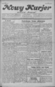 """Nowy Kurjer: dawniej """"Postęp"""" 1929.11.03 R.40 Nr254"""