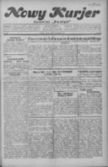 """Nowy Kurjer: dawniej """"Postęp"""" 1929.11.05 R.40 Nr255"""