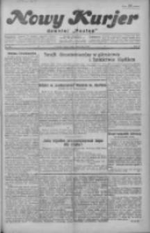 """Nowy Kurjer: dawniej """"Postęp"""" 1929.11.09 R.40 Nr259"""