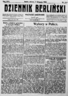 Dziennik Berliński. 1922 R.26 nr239