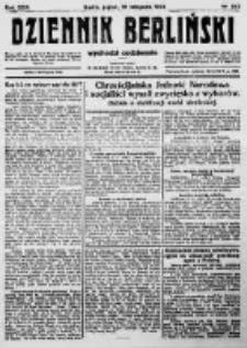 Dziennik Berliński. 1922 R.26 nr242