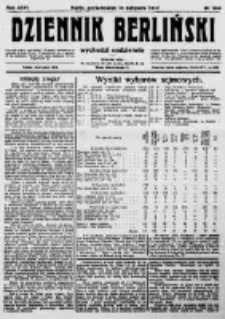 Dziennik Berliński. 1922 R.26 nr244