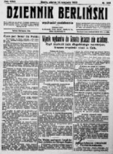 Dziennik Berliński. 1922 R.26 nr245