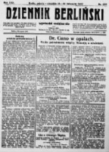 Dziennik Berliński. 1922 R.26 nr249
