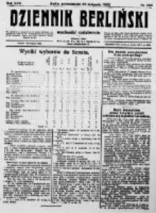 Dziennik Berliński. 1922 R.26 nr250