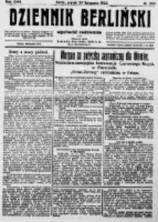 Dziennik Berliński. 1922 R.26 nr253
