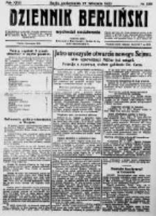 Dziennik Berliński. 1922 R.26 nr255