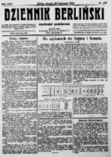 Dziennik Berliński. 1922 R.26 nr256
