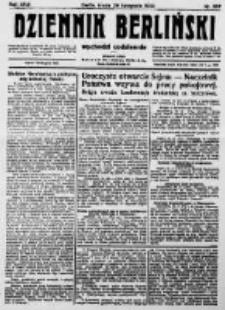 Dziennik Berliński. 1922 R.26 nr257