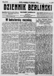 Dziennik Berliński. 1922 R.26 nr258